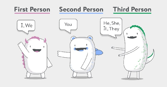 first-second-third-person-grammar | content writing tips for beginners