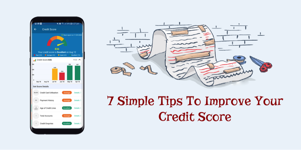7 Simple Tips To Improve Credit Score Fast