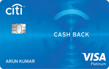 CitiBank Cashback-by-best credit-cards-in-india