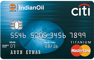 CitiBank Indian Oil Platinum-by-best credit-cards-in-india