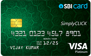 SBI SimplyCLICK-credit-card-in-india