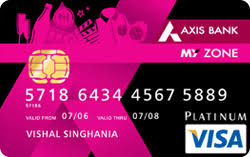 Axis Bank My Zone-by-best credit-cards-in-india