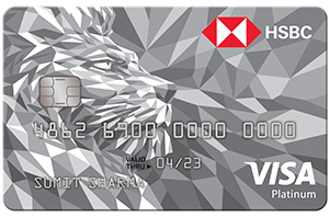 HSBC Visa Platinum Credit Card-by-best credit-cards-in-india